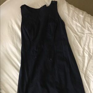 Navy blue brooks brothers dress